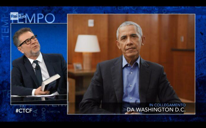 Ospite il 44° Presidente degli Stati Uniti Barack Obama per un'intervista esclusiva in tv in Italia