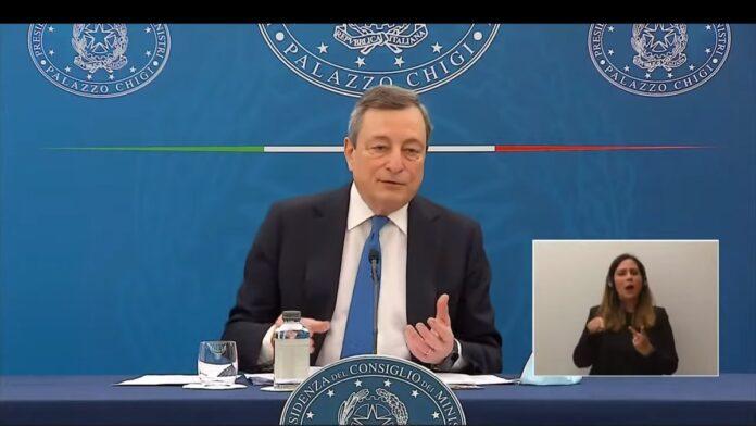 Nuove misure importanti dal 26 aprile annunciate dal Premier Draghi in conferenza stampa